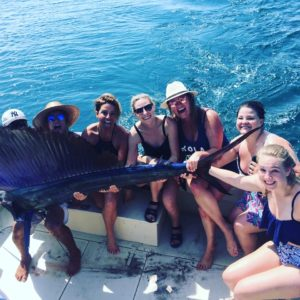 catching sailfish in puerto vallarta