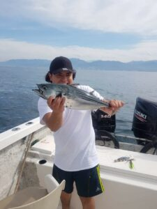 fishing with live baits in Puerto Vallarta Mexico