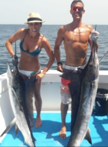 marlin double catch in July