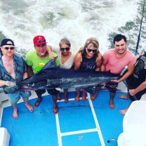 deep sea fishing for marlin in Puerto Vallarta
